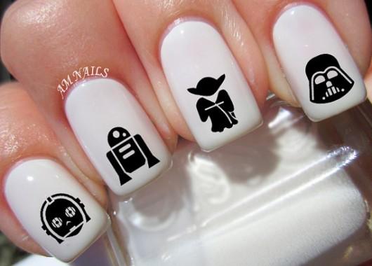 A propósito de Star Wars: Ideas para pintar tus uñas inspiradas en la nueva entrega de la saga
