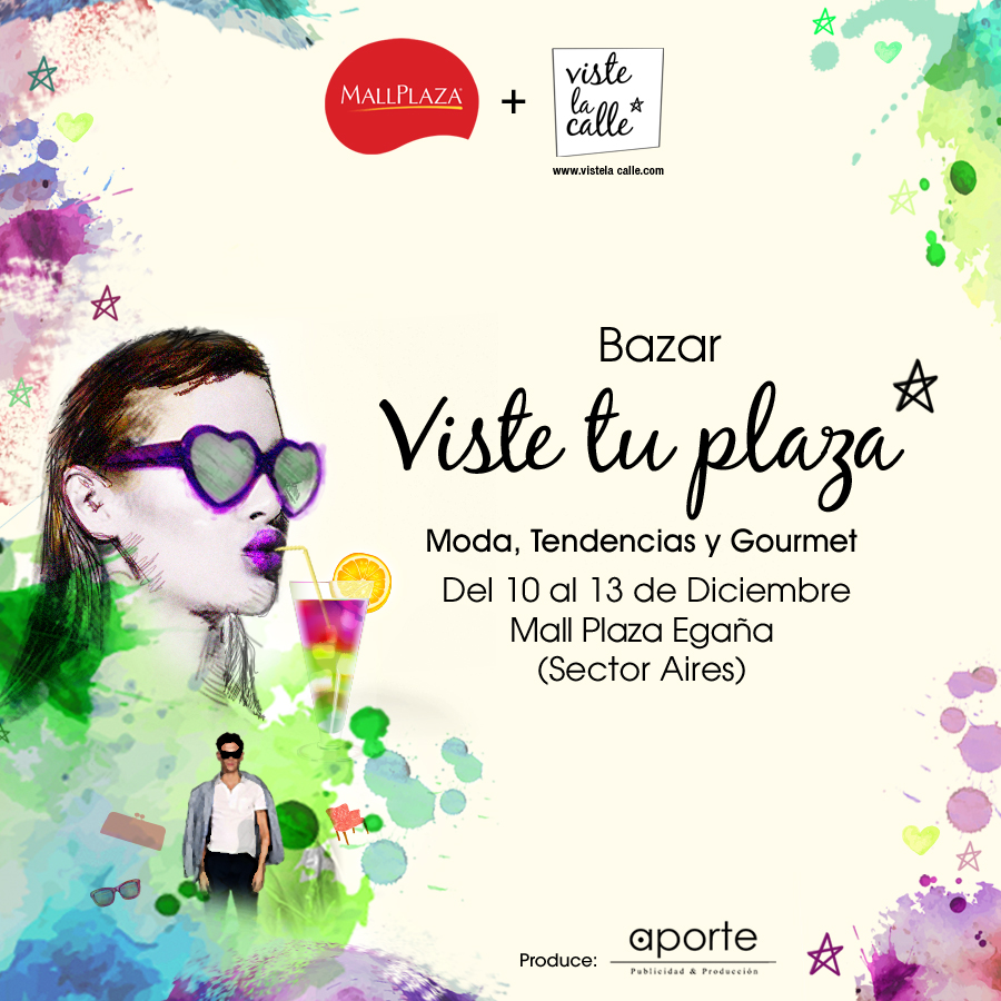 ¡Mañana jueves arranca VisteTuPlaza en Mall Plaza Egaña!