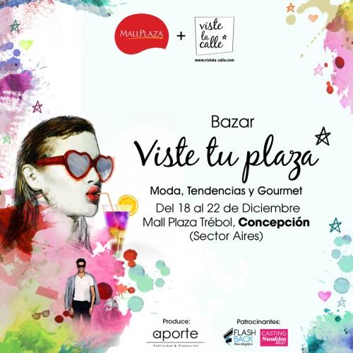 Hoy comienza VisteTuPlaza en Mall Plaza Trébol de Concepción