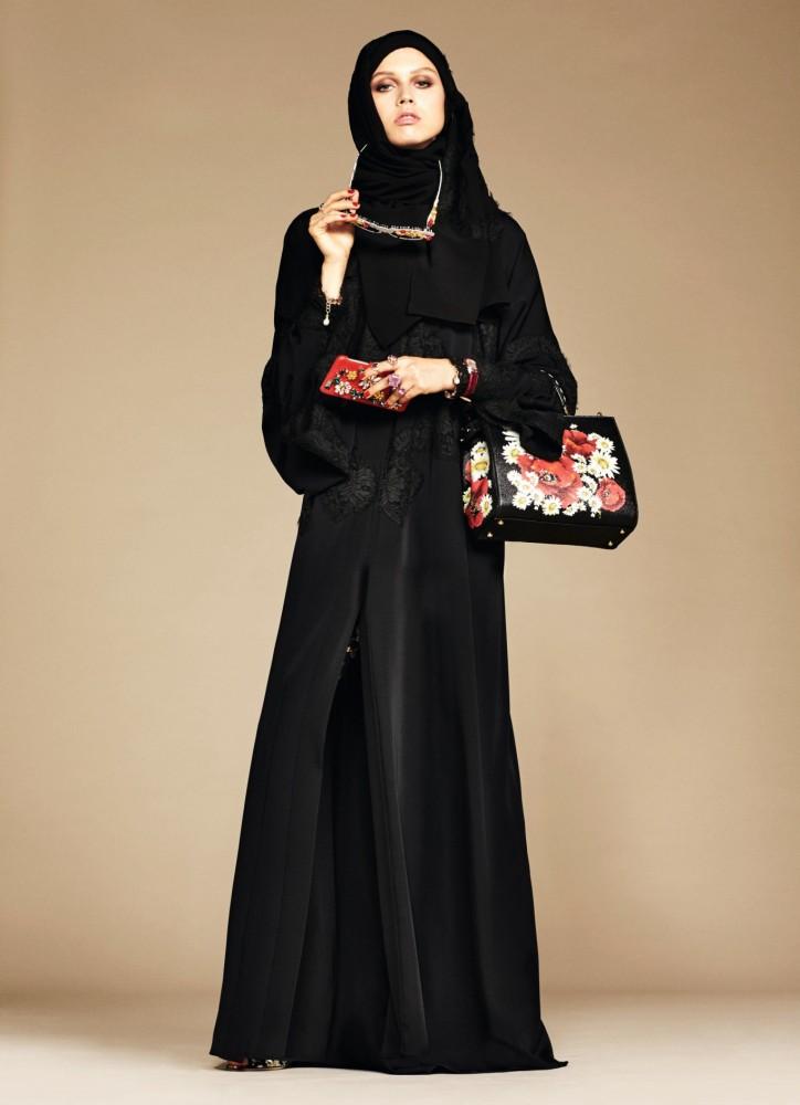 Lujo al servicio de la cultura: La nueva colección de abayas e hijabs de Dolce & Gabbana