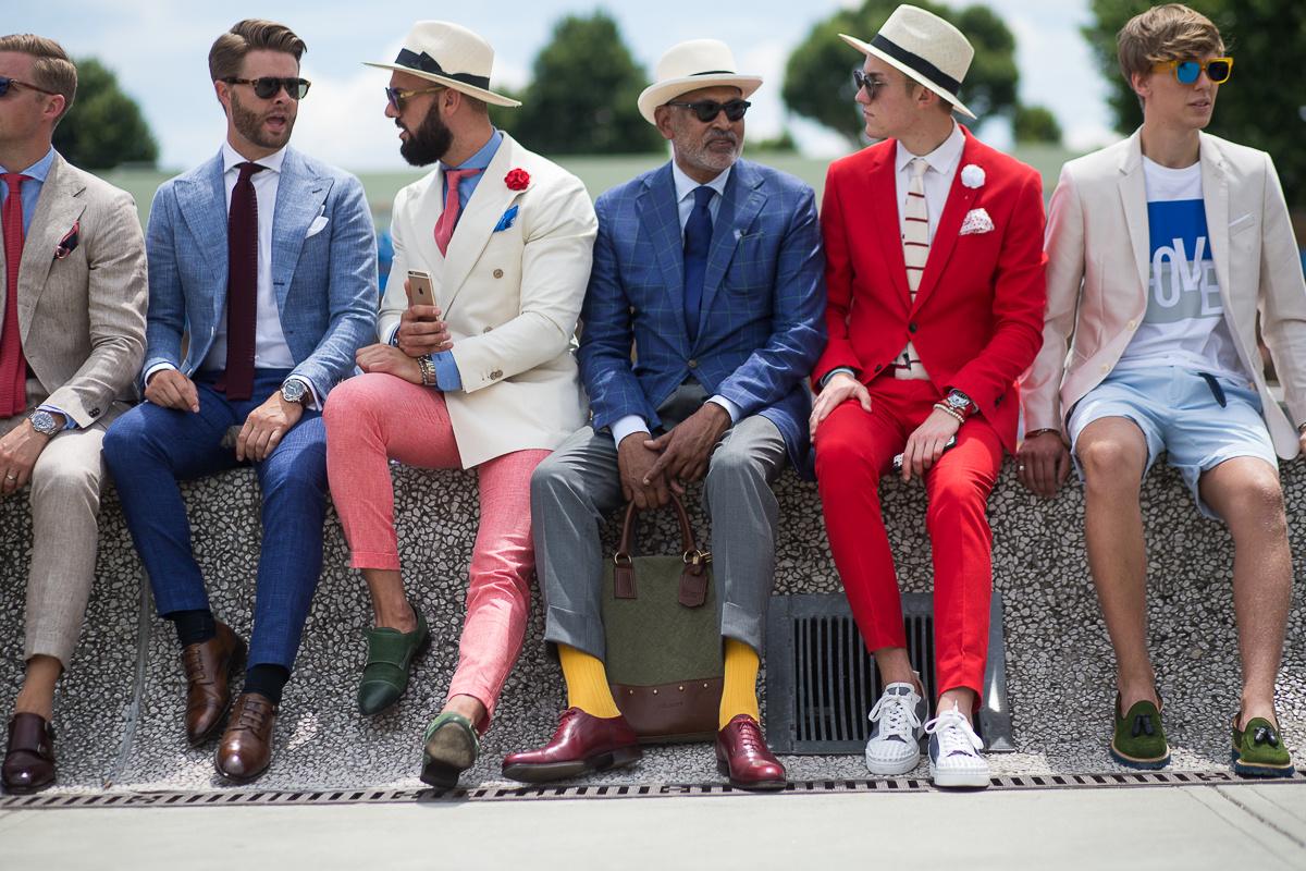 El street style masculino de Pitti Uomo 2016