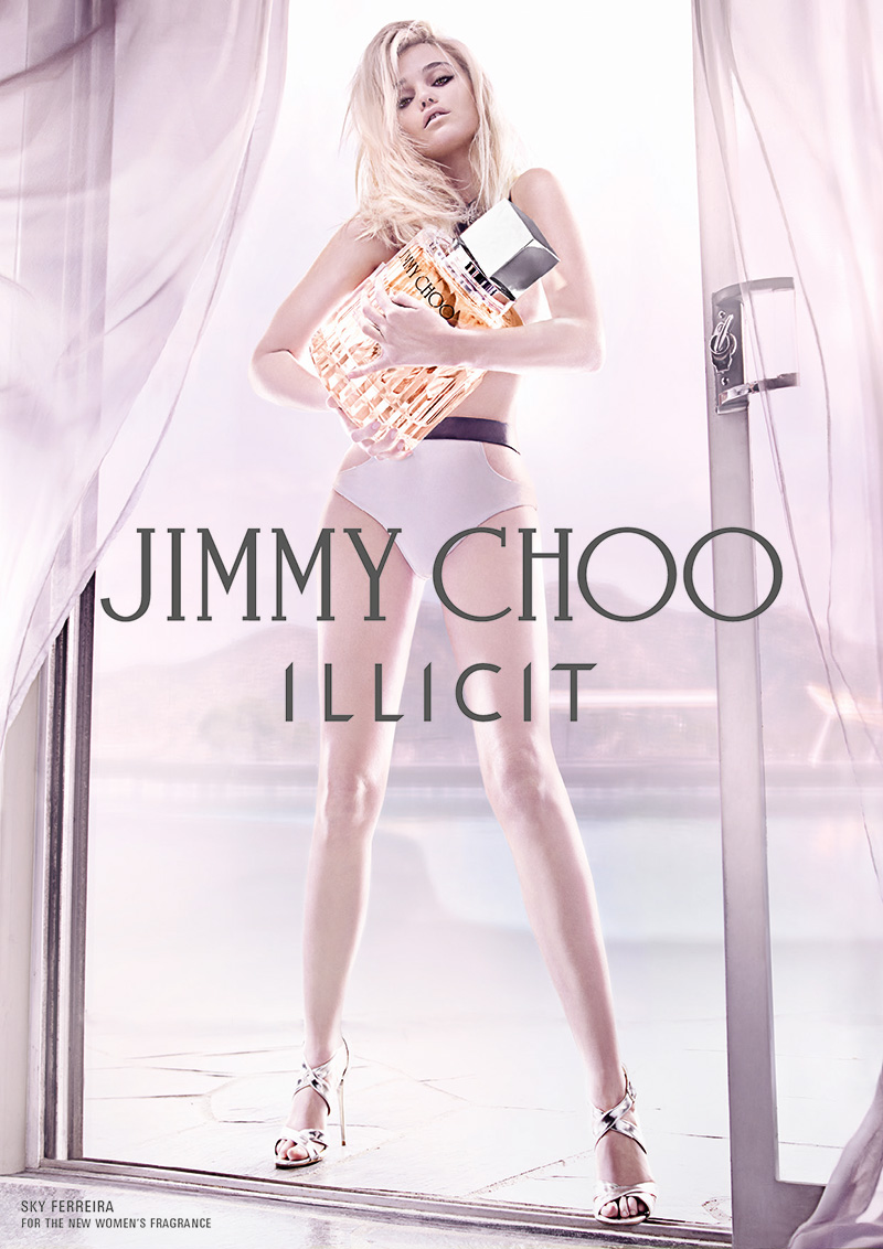 VLC ♥ Sky Ferreira para Jimmy Choo