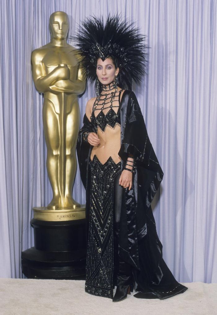 Para anticipar los Oscars: Los trajes más raros en la historia de estos premios