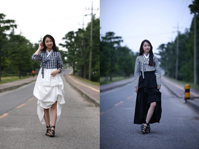 Hanboks modernos de la mano de Hwang Yi Seul