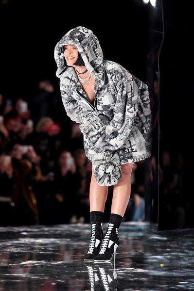 Lo que nos gustó de la colección Rihanna para Puma en New York Fashion Week