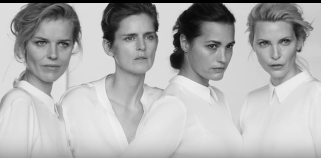 VLC ♥ Las supermodelos según Giorgio Armani
