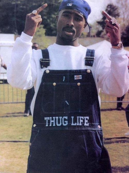 El estilo de Tupac Shakur a 20 años de su muerte