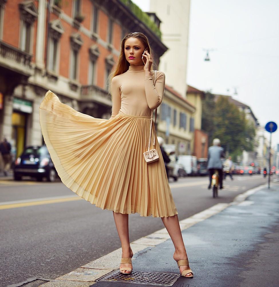 ¡Cuidado, Chiara! Las mejores fotos con el estilo de la blogger Kristina Bazan