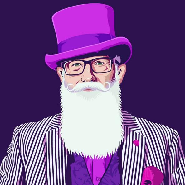 Pablo Sikosia, el ilustrador de barbas chileno