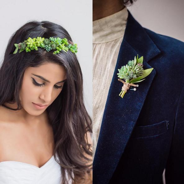 Joyas vivas en Passionflower, el estudio de diseño especialista en joyería floral