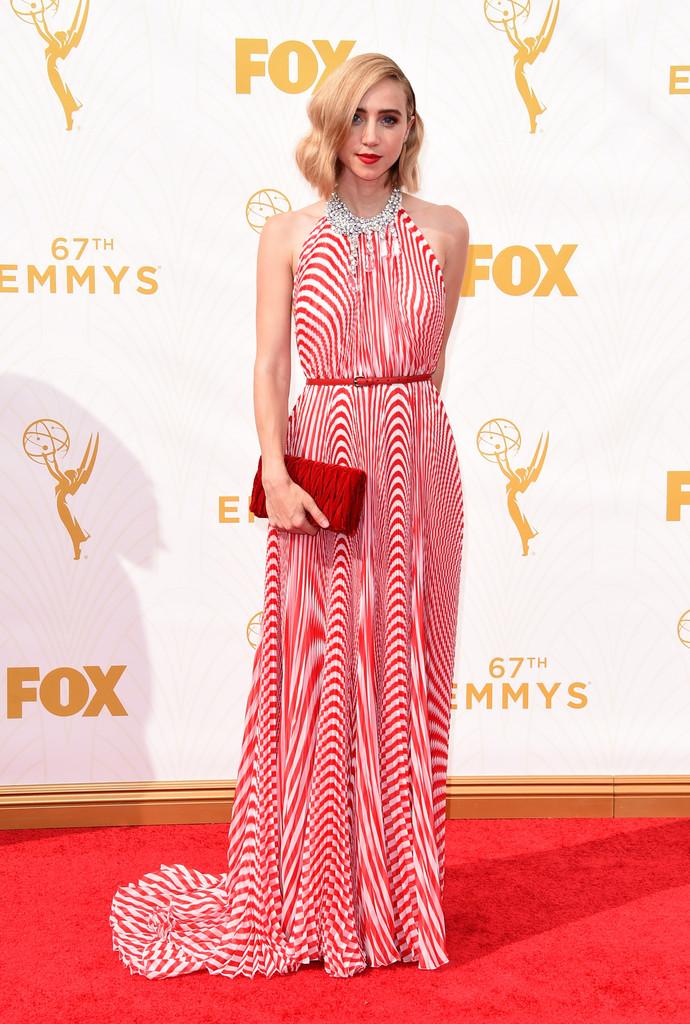 El estilo de alfombra roja de Zoe Kazan
