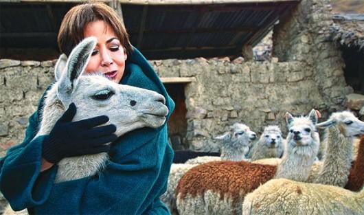 Despedimos a la Reina de la Alpaca boliviana, Beatriz Canedo Patiño