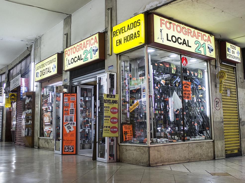 Locales de revelado análogo en Santiago