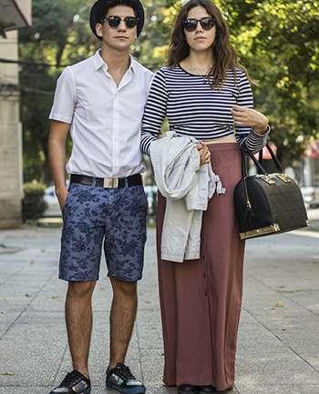 Sebastian Tobar y Catalina Lagos