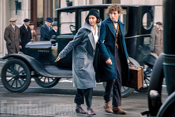 "Magos y vestuarios de época en la nueva cinta de J.K. Rowling: ""Fantastic Beasts and where to find them"""