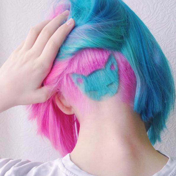 #HiddenHairTattoos, la tendencia de los tatuajes ocultos en tu pelo