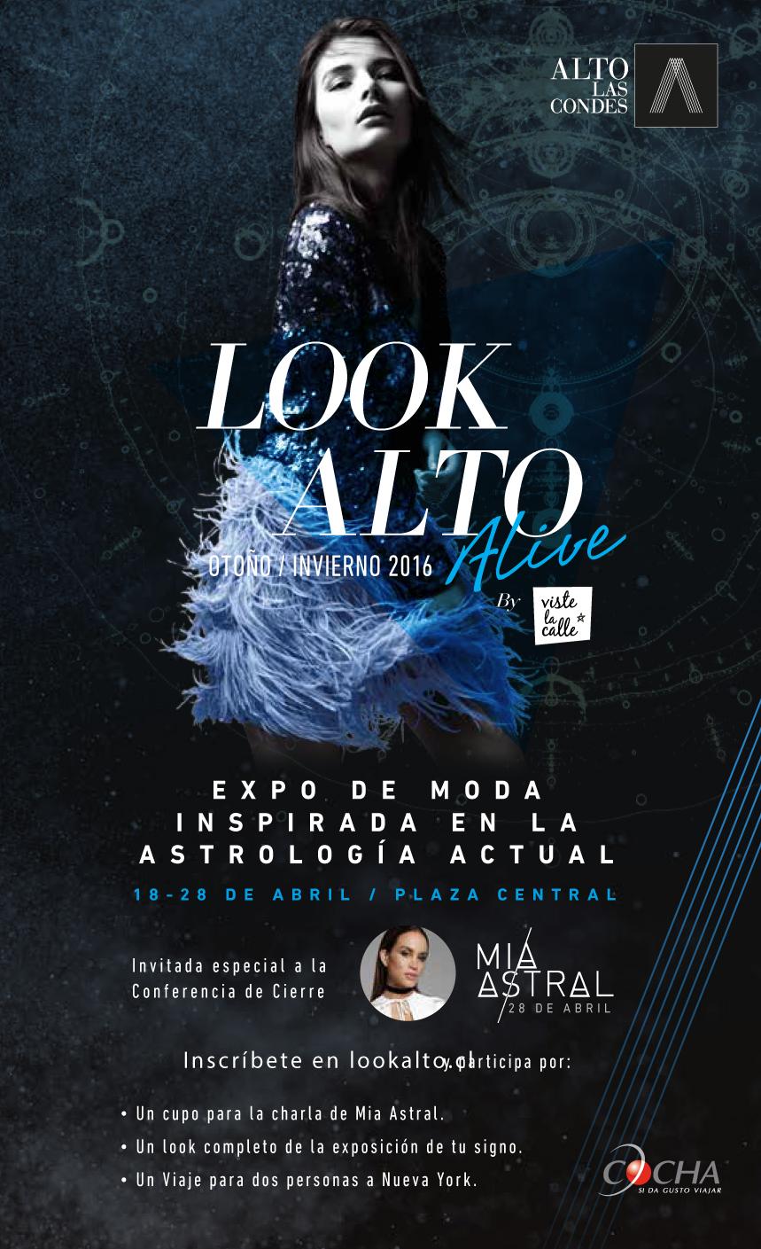 Mia Astral en Look Alto Alive Otoño/Invierno 2016 por VisteLaCalle