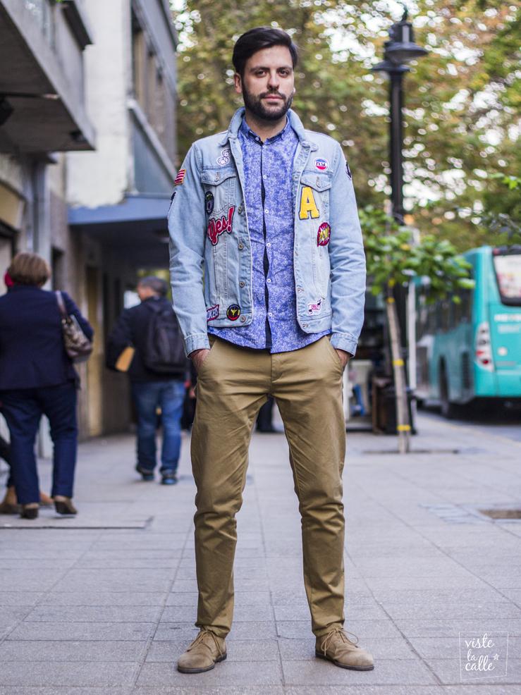 Street Style: Chaquetas intervenidas con parches, mensajes y diseños originales