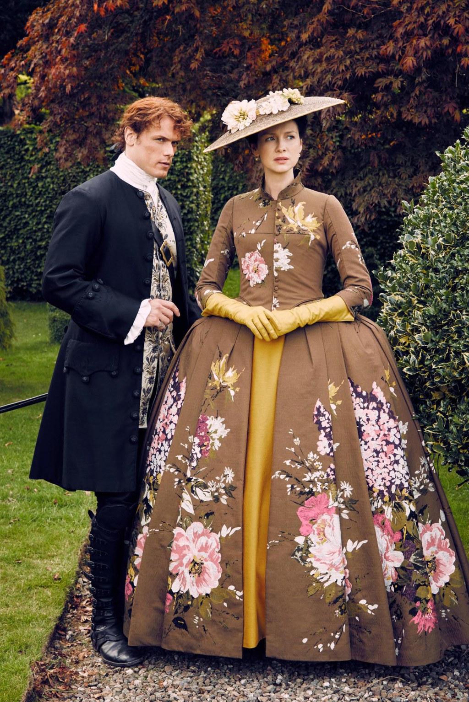 El vestuario de la serie Outlander