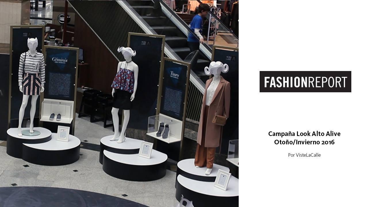 Fashion Report: Campaña Look Alto Alive Otoño/Invierno 2016 por VisteLaCalle