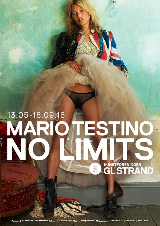 """""""No Limits"""", la primera exhibición de Mario Testino en Dinamarca"""