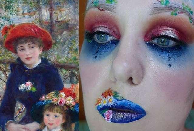 Arte y maquillaje: El trabajo de Lexie Lazear