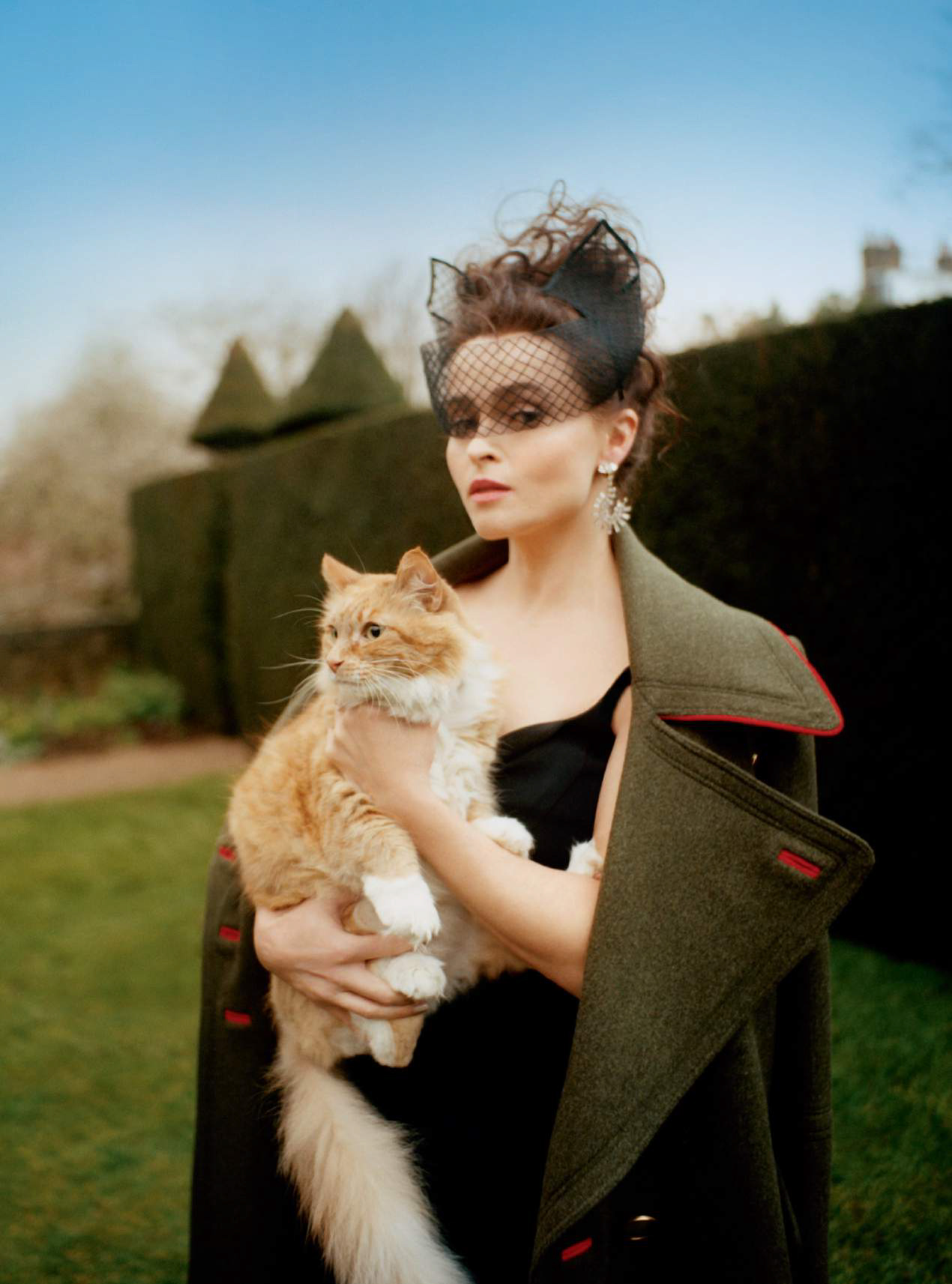 Helena Bonham-Carter para Harper's Bazaar UK, 2016