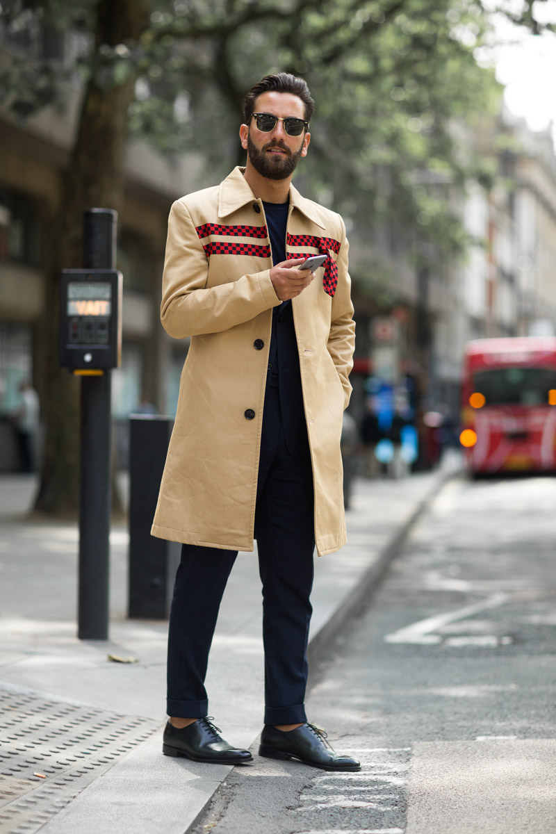 El street style de London Fashion Week Mens S/S 2017