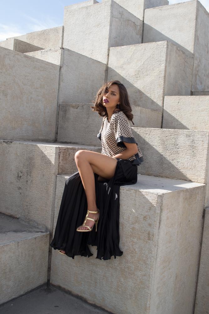 """Entrevista al diseñador mexicano Carlo Godni: """"Poder apreciar todos los detalles de construcción de una prenda de Alta Costura es lo que hace que sea mágica"""""""