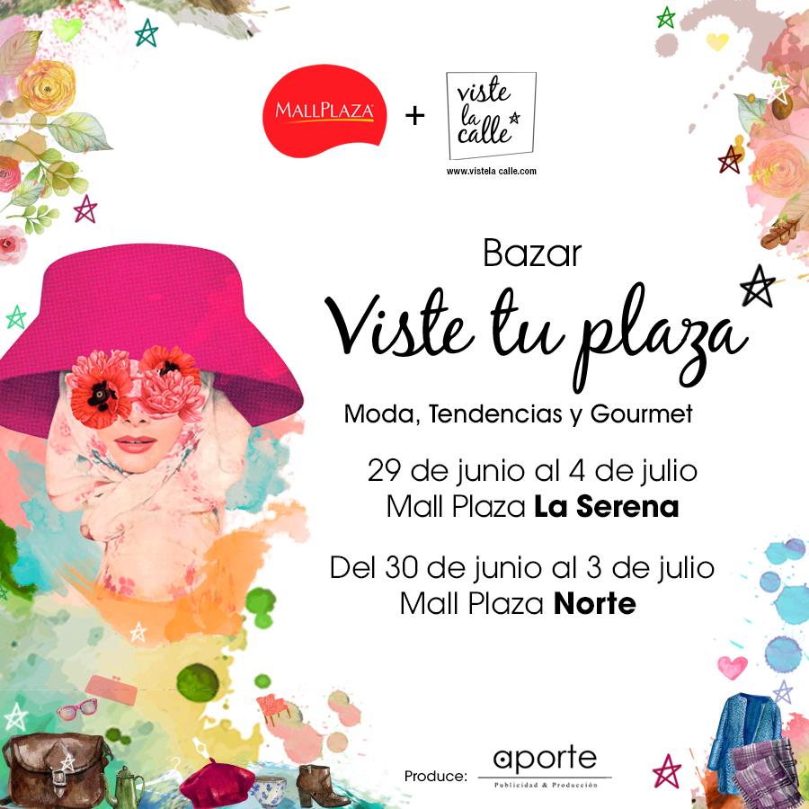 Hasta el 3 de julio: Bazar VisteTuPlaza en Santiago y La Serena