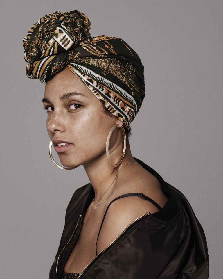 Alicia Keys y el movimiento #NoMakeup