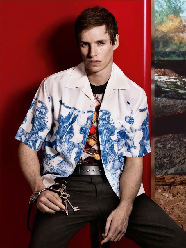 La campaña de Prada Mens 2016 con Eddie Redmayne