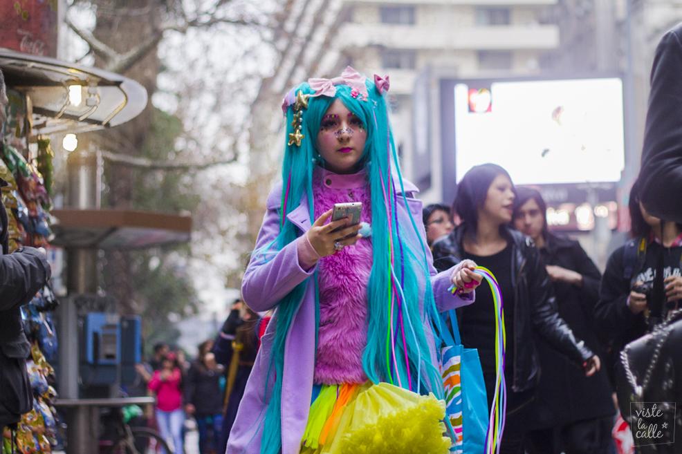 Así estuvo la 8va edición de Harajuku Fashion Walk en Santiago
