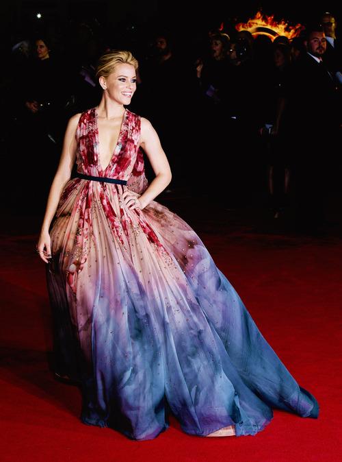 Inspiración visual: Los mejores trajes de Elie Saab sobre la alfombra roja