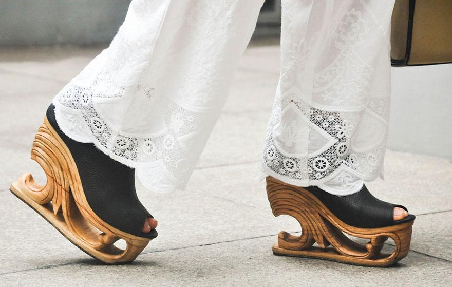 Saigon, la marca de zapato que muestra el arte en madera
