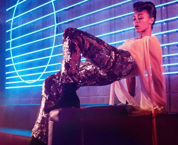 Zoe Saldana y su homenaje a Prince, 2016