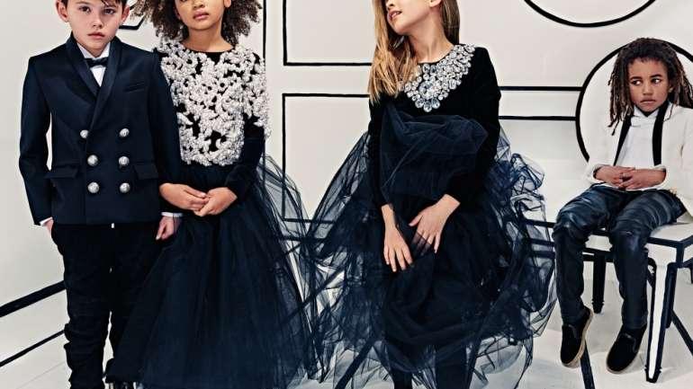 VLC Kids: Un vistazo a la línea de ropa infantil de Balmain inspirada en North West
