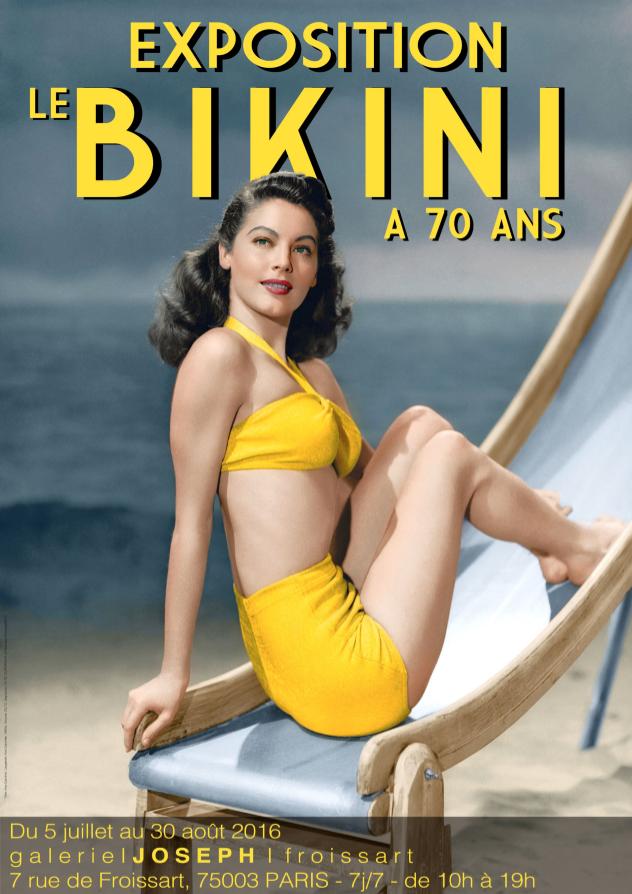 Los 70 años del bikini y su exhibición en París