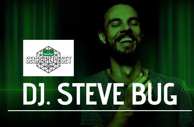 El DJ alemán Steve Bug presente en #SecretLiveSet de Heineken