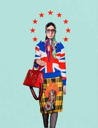 Edwin Antonio, el ilustrador de Vogue Italia que transforma obras de arte en diseños vanguardistas