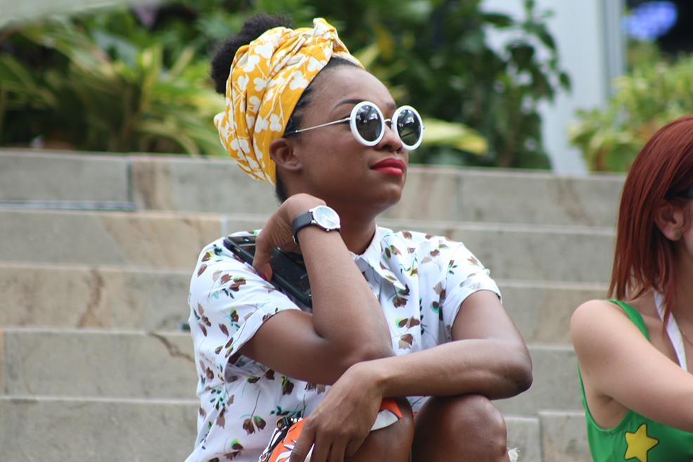 Street Style: Los colores vivos y los estampados predominaron en Colombiamoda 2016