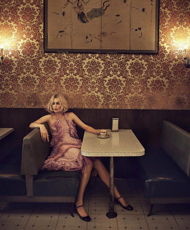 El debut de Linda Evangelista como estilista