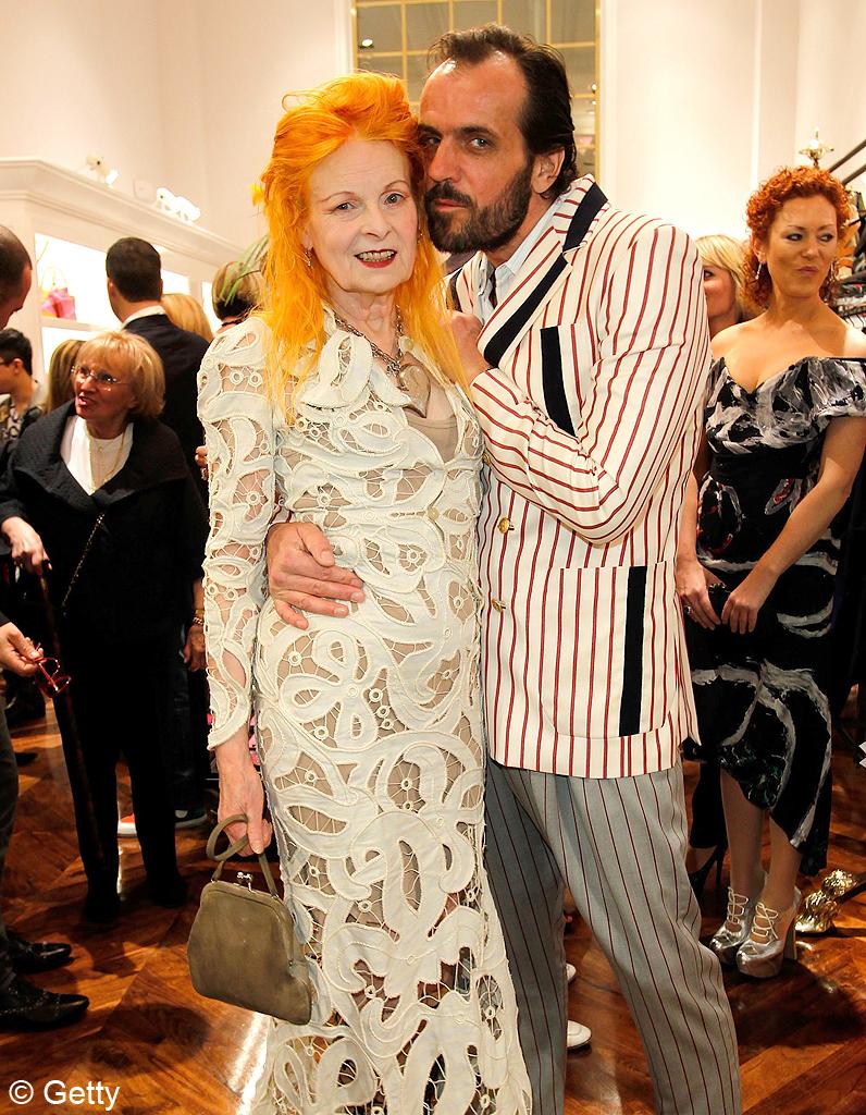 Vivienne Westwood & Andreas Kronthaler, una pareja con estilo propio