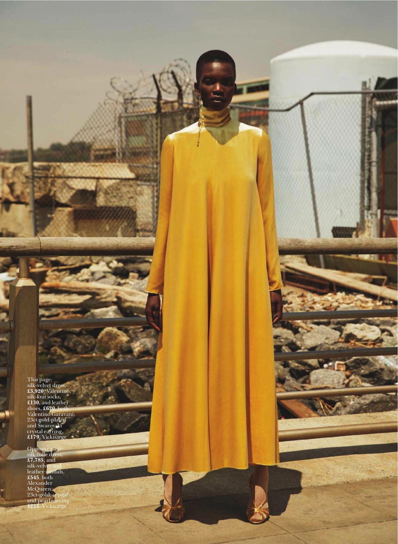 La riqueza de las texturas con Marie Claire, 2016
