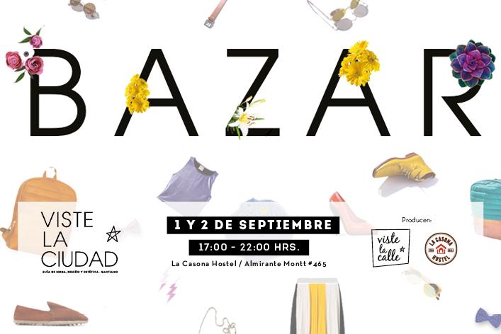 Panorama imperdible: ¡Te invitamos al Bazar VisteLaCiudad!