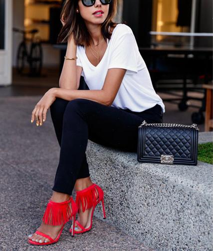 Poleras, la prenda básica que se convirtió en la favorita de las fashionistas