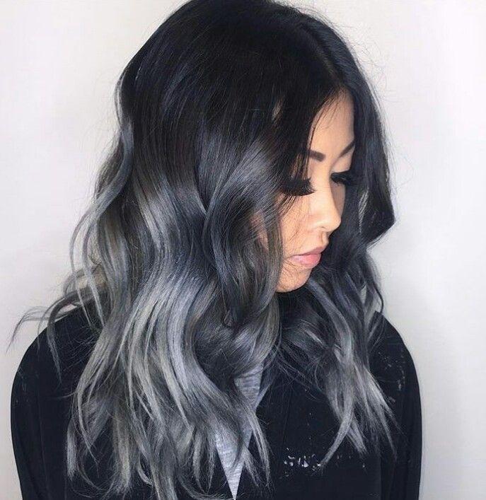 Grey Ombre o degradado gris, la nueva tendencia en pelo