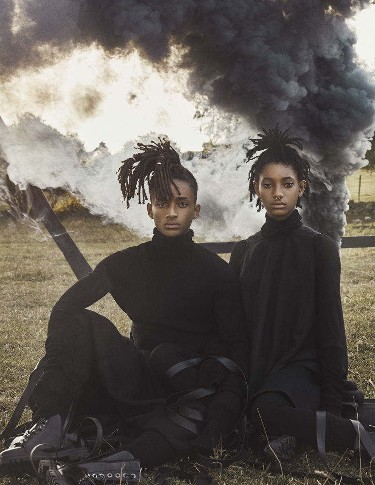 La editorial apocalíptica de Willow & Jaden Smith