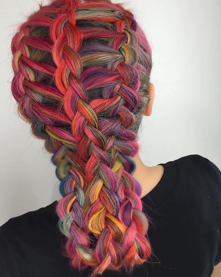 Lattice Braids, las bellas trenzas que debes intentar