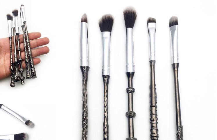 Así son las brochas de maquillaje con varitas de Harry Potter